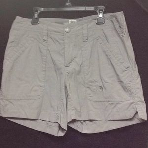 Women's grey North Face shorts